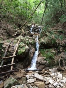 二段の滝。