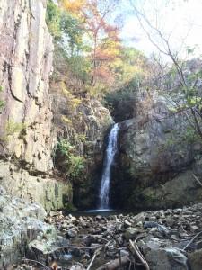惣川谷大滝。