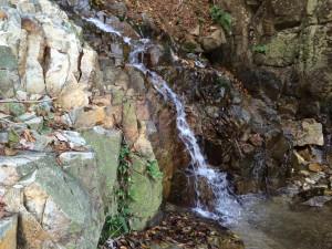 小滝の一つ。