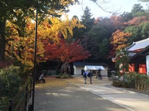 中山寺奥之院。