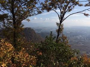 小脇山からの眺め。