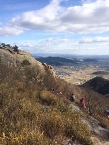 高御位山山頂付近。