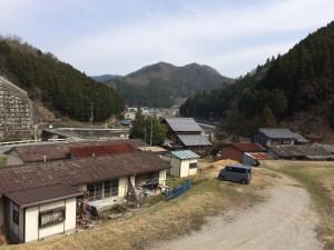 三郎岳が見える。