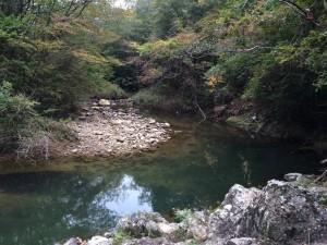 鎌倉峡出合。